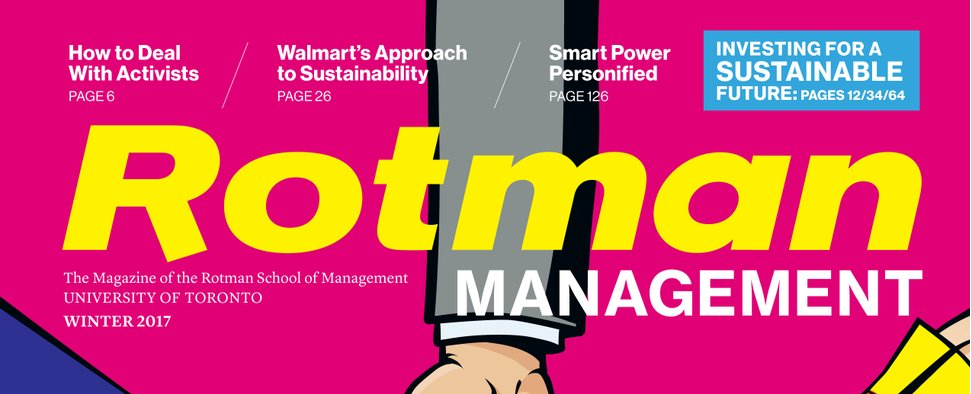 Rotman Management Magazine Interview