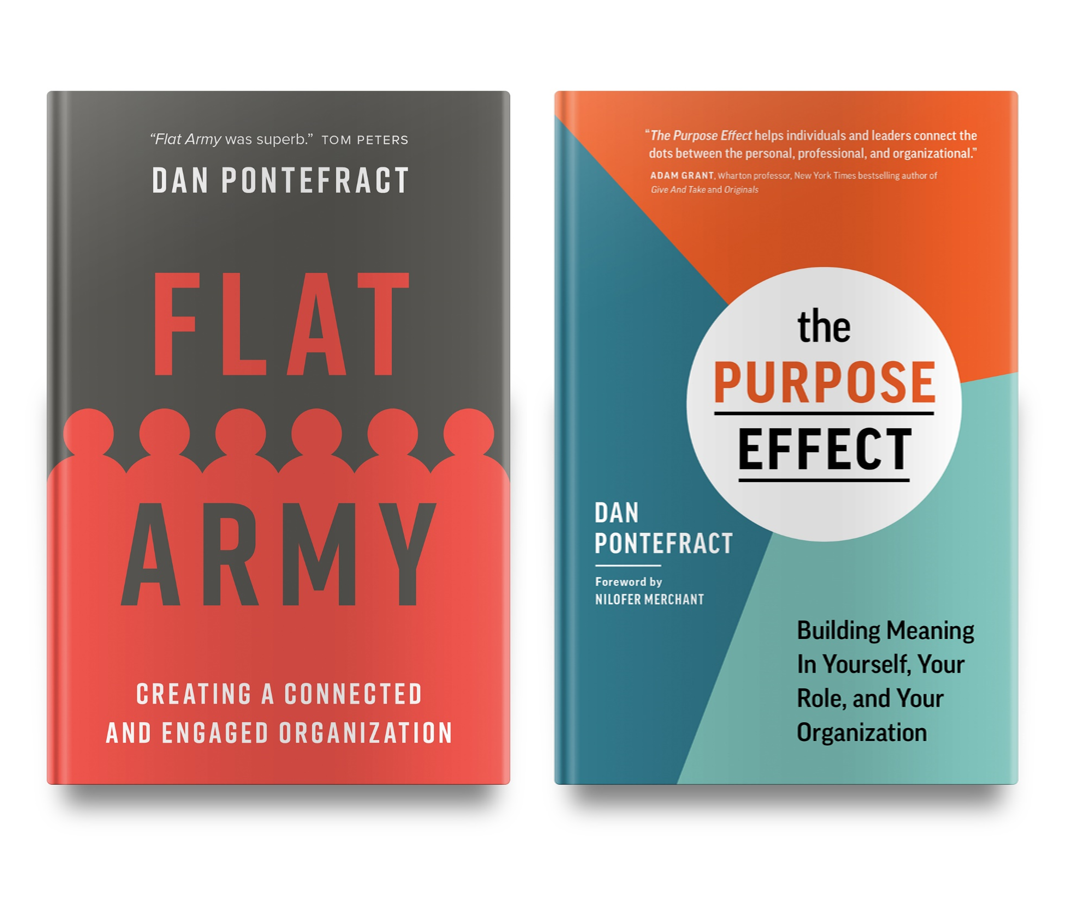Now Available: Paperback Versions of FLAT ARMY and THE PURPOSE EFFECT