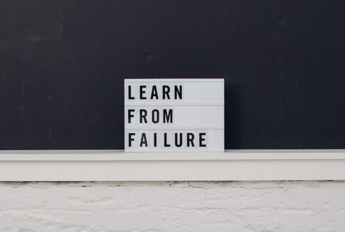 """""""Fail Fast, Fail Often"""" Often Fails, Fast"""
